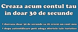 Creaza un cont nou gratuit in doar 30 de secunde!